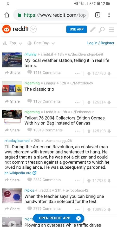 Webapp Reddit