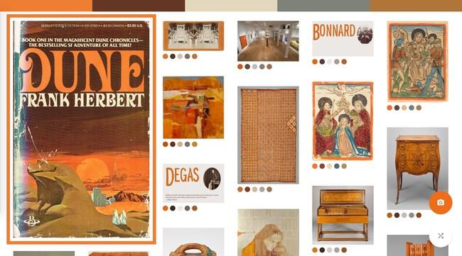 Window Y Google® Art Culture Experiment Art Palette 3