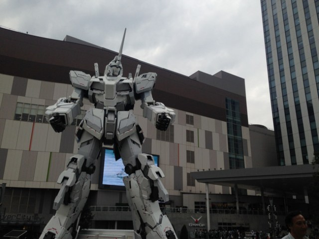 Unicorn Gundam Japon 9