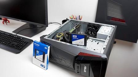 Instalando el SSD en el pc de sobremesa