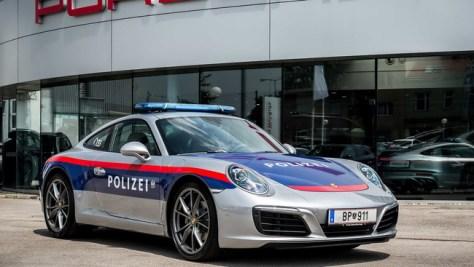 La policía de Austria estrena un Porsche 911 para controlar las carreteras del país
