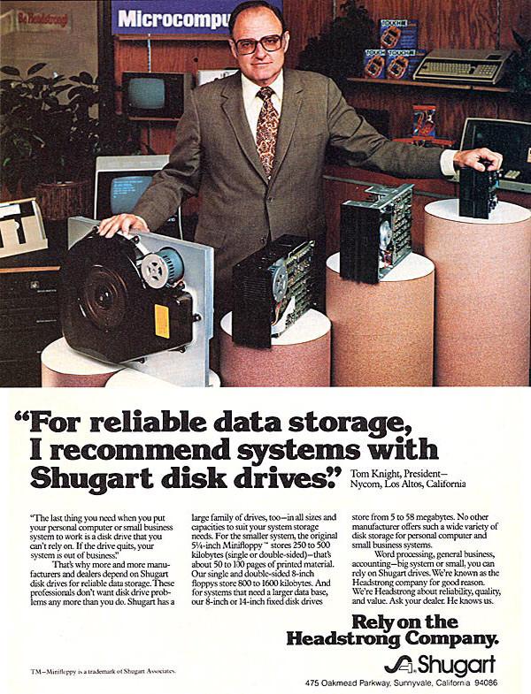 Sugart Disk Drive