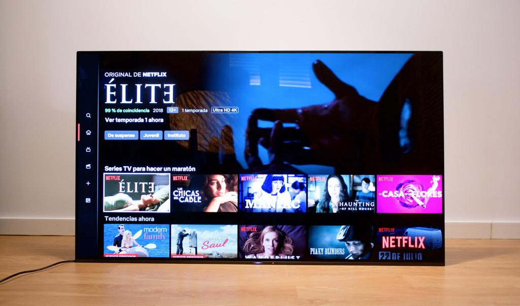 Sony AF9 Master Series, análisis: foto sensacional con un modo para gozar mas de Netflix