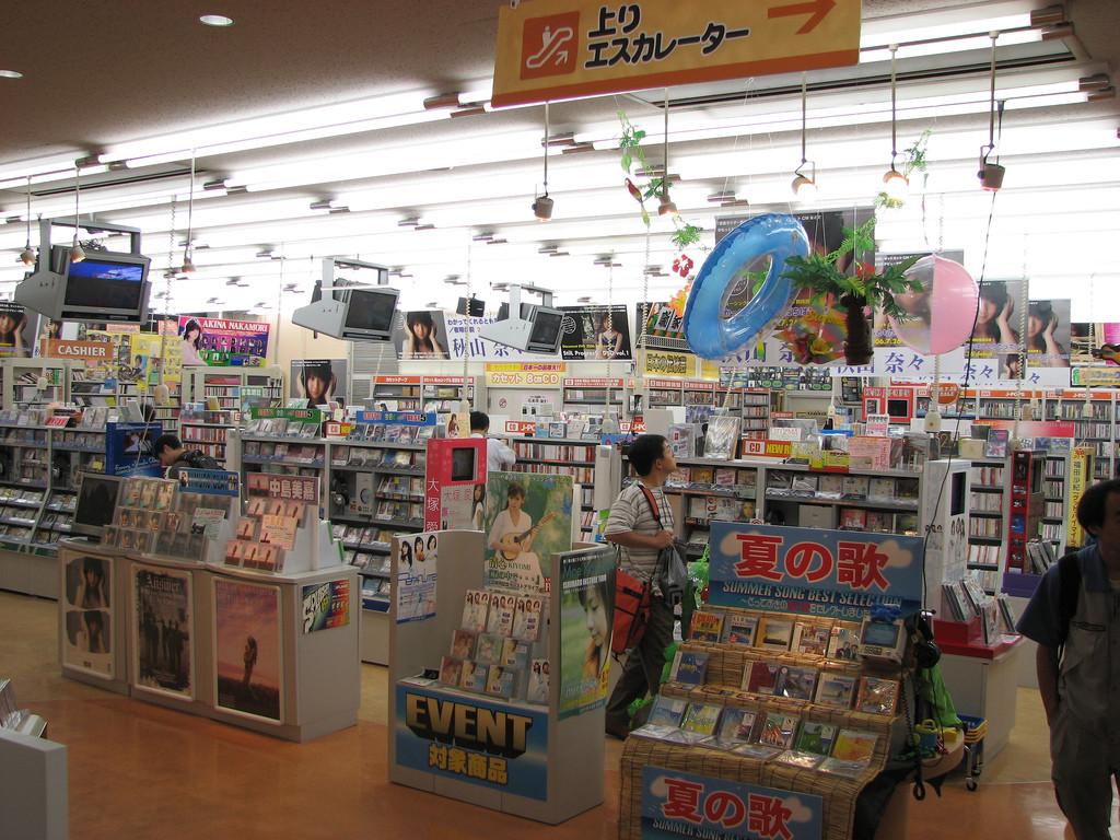 Permalink to El extraño caso de los CD de música en Japón: arrasan en ventas allí mientras agonizan en el resto del mundo