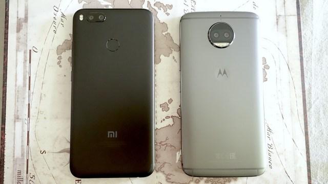 Xiaomi Mi 5x Vs Motocicleta G5s Plus