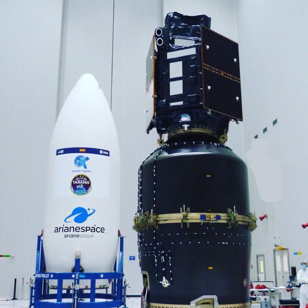 El nuevo satélite de observación de España se llama INGENIO