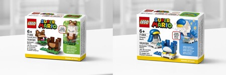Trajes de pingüino y tanuki de LEGO Mario