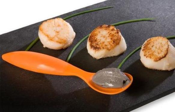 Helado de caviar