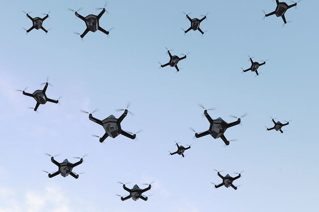 Drones Ataque Rusia