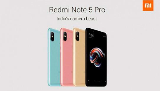 Redmi Note cinco Pro