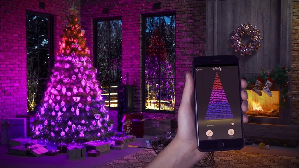 Estas luces de Navidad permiten usar visión por ordenador para mapear cada uno de los LEDs y crear iluminaciones y patrones únicos