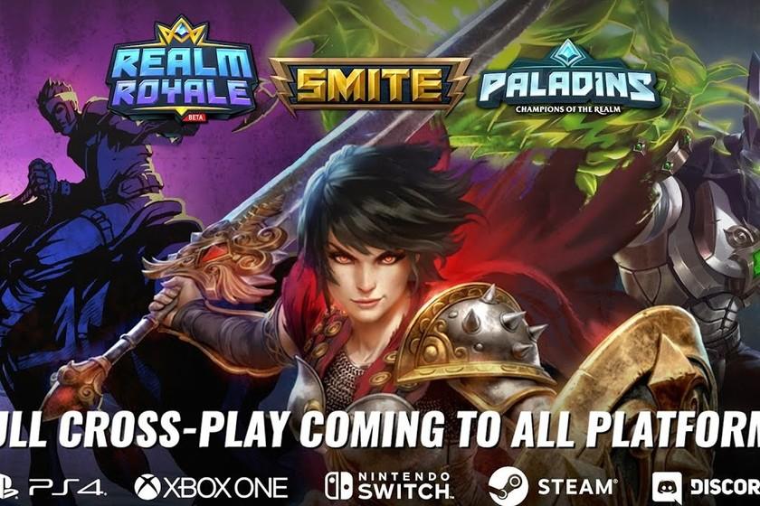 Realm Royale, Smite y Paladins habilitarán la función cross-play entre todas sus versiones