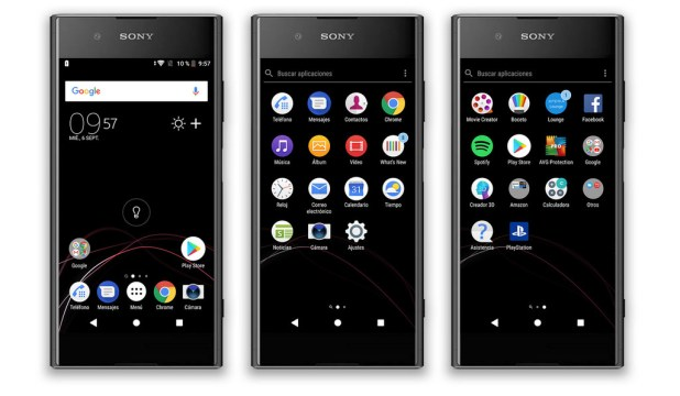 Sony Xperia Xz1, Software