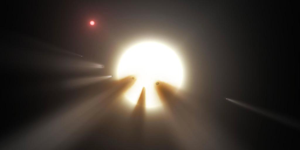Permalink to Tabby, las estrella que vuelve locos a astrónomos profesionales y aficionados que aún resulta ser un misterio