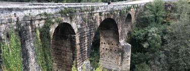El Ponte Bibei, construido en la época del emperador Trajano en la Pobra de Trives