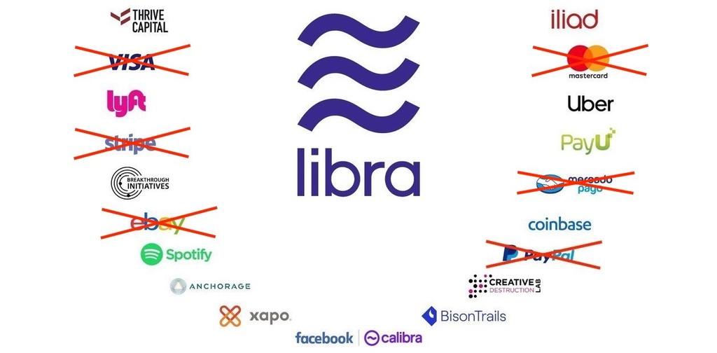 Visa, MasterCard, eBay, Stripe y Mercado Pago anuncian su salida de la Libra Association: la criptomoneda de Facebook pierde adeptos