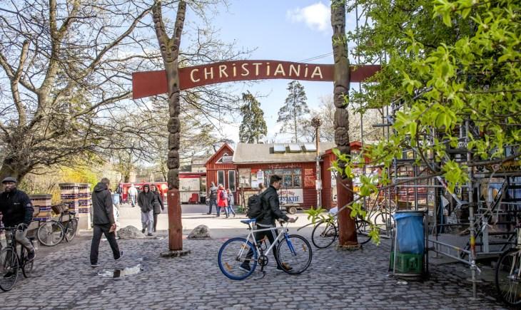 45 años de Christiania, una pequeña ciudad libre en el corazón de ...