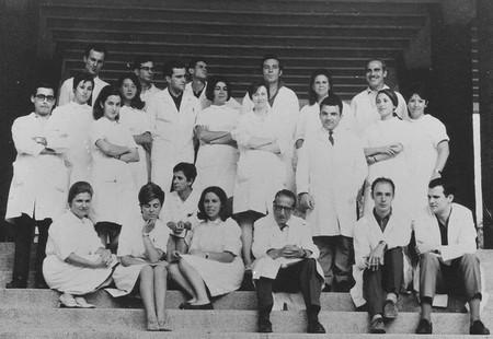 Escalera Velazquez 1968 Insto Gregorio Maranon