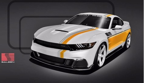 Saleen 302 Black Label Mustang 30 Anos