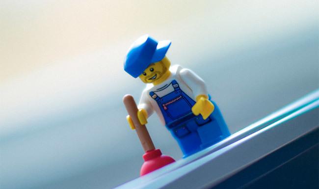Fontanero Lego
