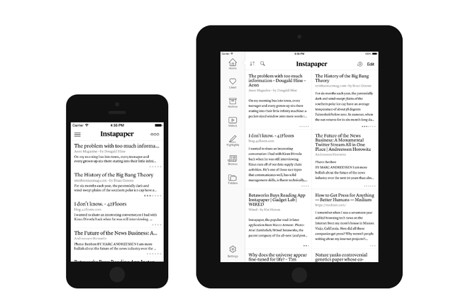 Instapaper Award Winning Iphone Ipad App For Offline Reading