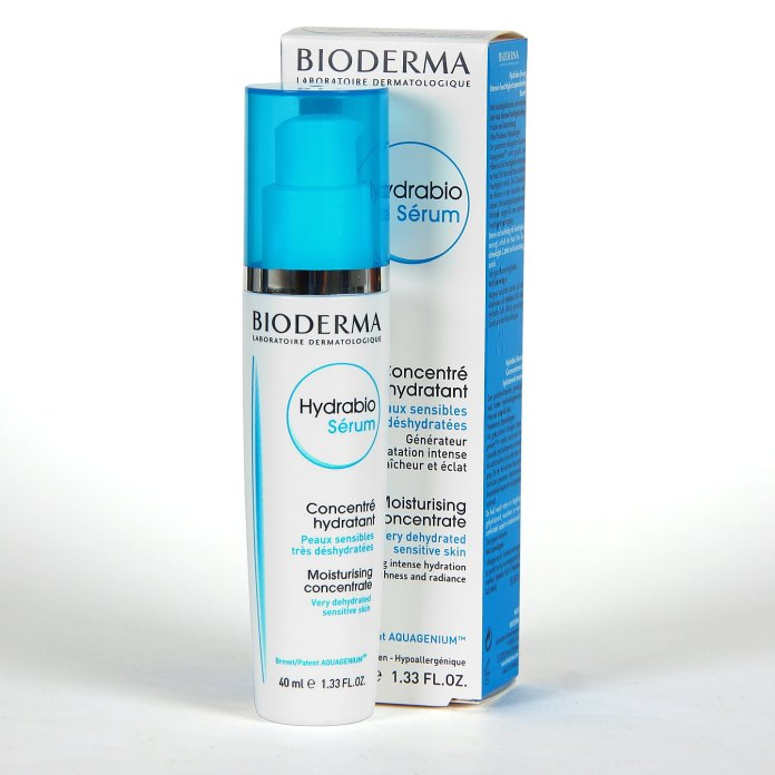 Hydrating concentrated serum with hyaluronic acid for sensitive skin Hydrabio by Bioderma