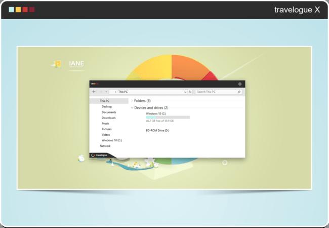 Travelogue X Windows® 10(diez) Edition By Neiio D9e7sfr