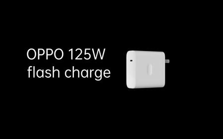 El cargador flash de 125W de OPPO