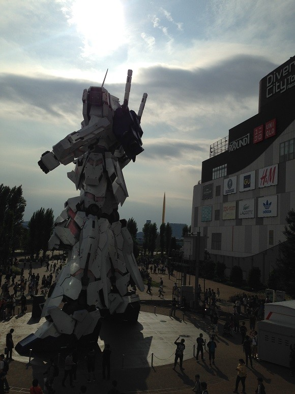 Unicorn Gundam Japon 6