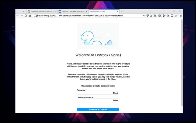 Welcome To Lockbox Mozilla Firefox