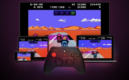 the Atari catalog and own ROMs on mobiles, tablets, PCs and TVs