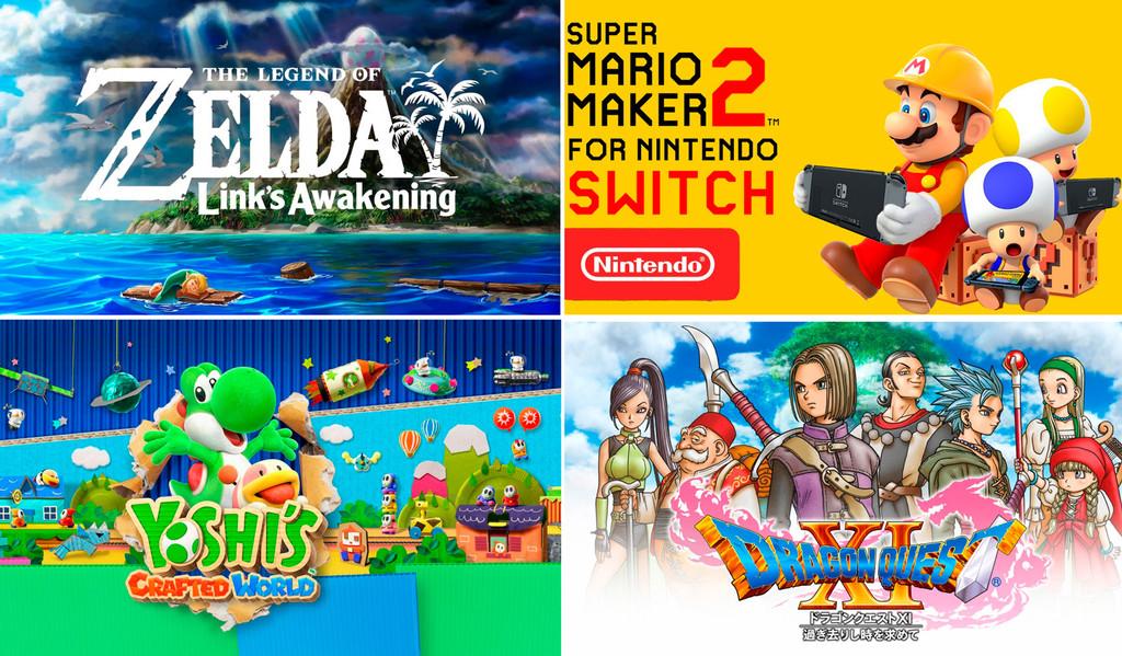 'Super Mario Maker 2' y 'The Legend of Zelda: Link's Awakening': algunas de las novedades que nos prepara Nintendo para este 2019