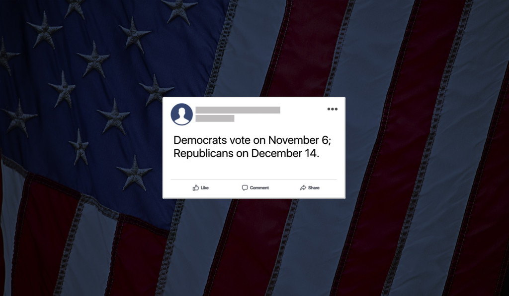Permalink to Facebook prohibirá la información falsa en las elecciones legislativas de EEUU