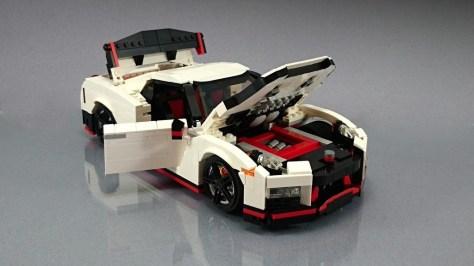 Lego Nissan Gt R Nismo 3