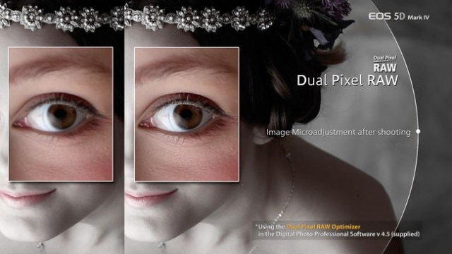 Dual Pixel en Canon