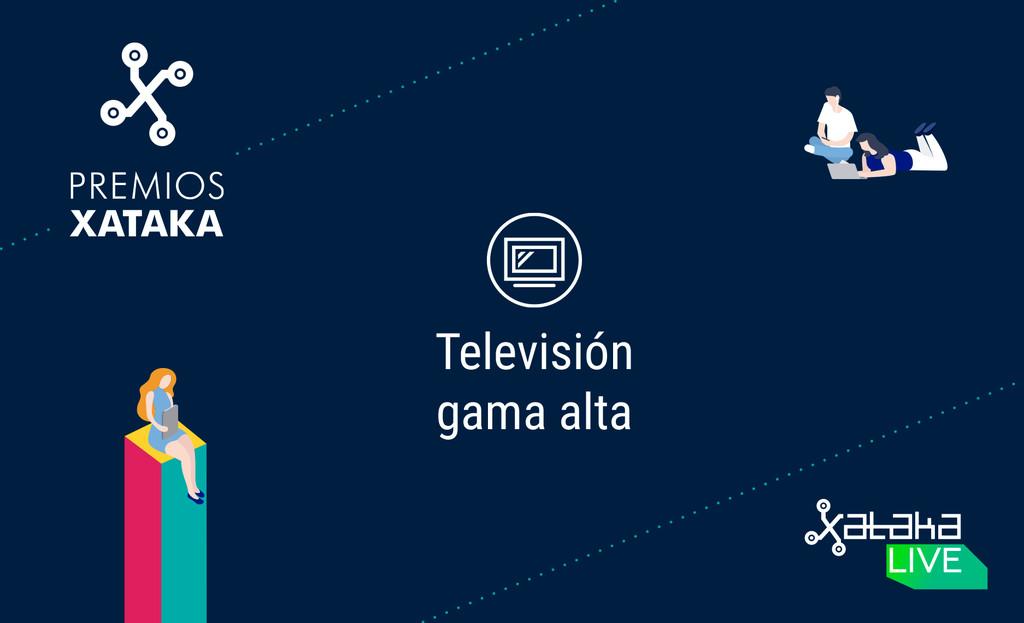 Mejor televisor de variedad alta: vota en los Premios Xataka 2018