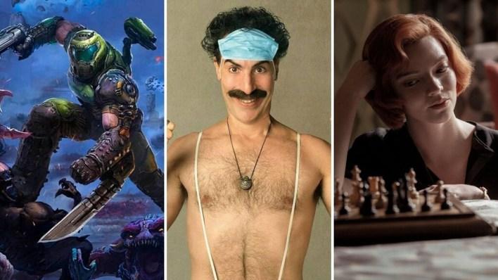 Seis planes imprescindibles para el fin de semana: el regreso de Borat, ajedrez, 'DOOM' y mucho más