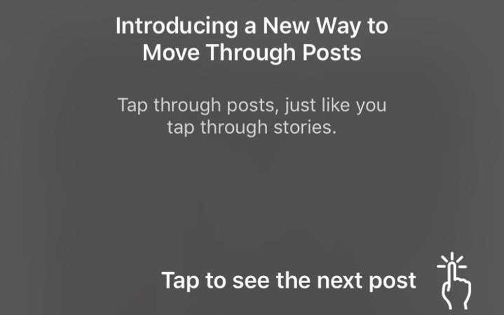 Instagram está cambiando radicalmente su 'feed': ahora se desplaza horizontalmente, al estilo de las 'stories'