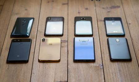 Comparativa smartphones de gama alta diseño