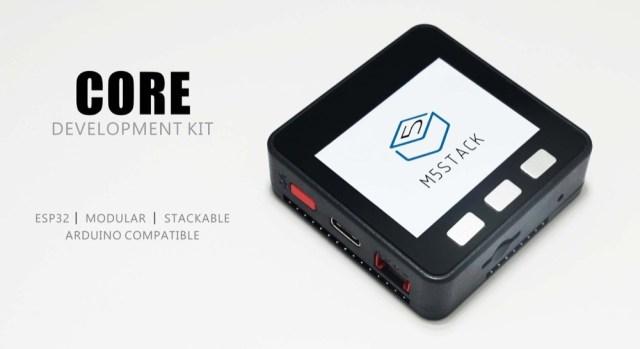M5Stack Core Development Kit, un interesantísimo dispositivo