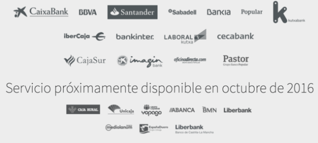 Bancos con Bizum
