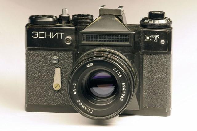 Zenit ET with Helios 44-2 lens