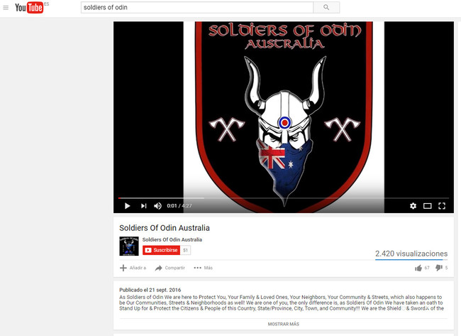 Soldiers Of Odin Youtube