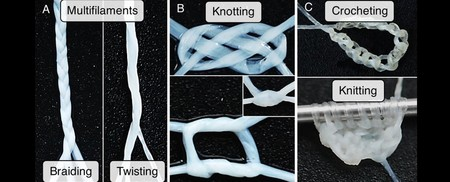 Human Skin Filament Threads 1024