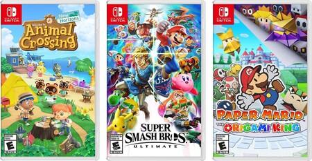 Juegos de Nintendo Switch en oferta con Amazon México