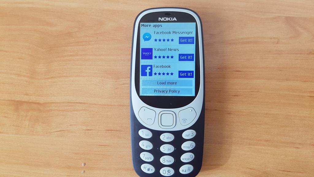 Apps Nokia® 3310