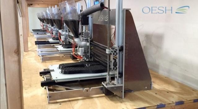 Impresoras 3d fabricando suelas de calzado