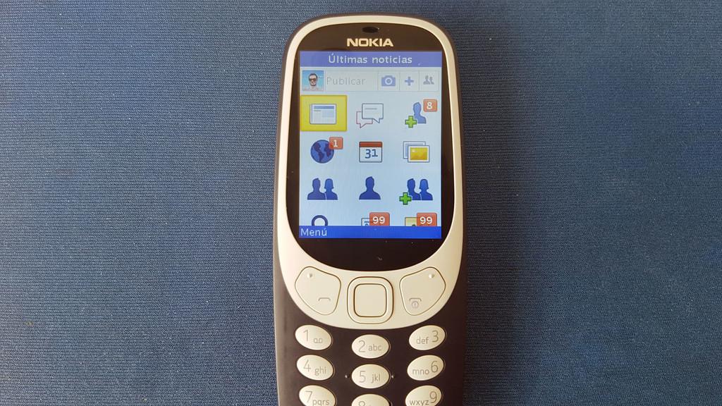 Facebook dos Nokia® 3310