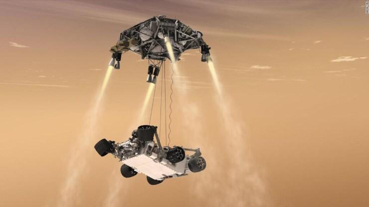 Este el primer y espectacular vídeo que tenemos de un aterrizaje en Marte: Perseverance grabó la hazaña en vídeo