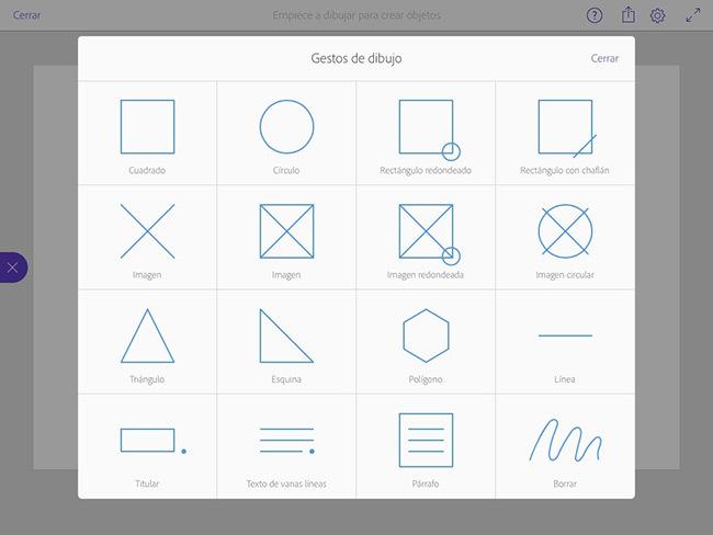 Adobe Comp CC para iPad